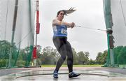 22 August 2020; Ciara McHugh Murphy of Claremorris AC, Mayo, competing in the Women's Hammer during Day One of the Irish Life Health National Senior and U23 Athletics Championships at Morton Stadium in Santry, Dublin. Photo by Sam Barnes/Sportsfile