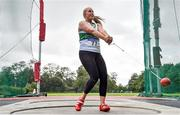 22 August 2020; Ciara Sheehy of Emerald AC, Limerick, competing in the Women's Hammer during Day One of the Irish Life Health National Senior and U23 Athletics Championships at Morton Stadium in Santry, Dublin. Photo by Sam Barnes/Sportsfile