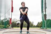22 August 2020; Caoimhe Morris of Clonliffe Harriers AC, Dublin, competing in the Women's Hammer during Day One of the Irish Life Health National Senior and U23 Athletics Championships at Morton Stadium in Santry, Dublin. Photo by Sam Barnes/Sportsfile