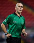 14 August 2020; Referee Ronan Barry during the Down County Senior Club Football Championship Round 1 match between Kilcoo and Mayobridge at Páirc Esler in Newry, Down. Photo by Piaras Ó Mídheach/Sportsfile