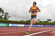 22 August 2020; Gavin O'Rourke of Leevale AC, Cork, competing in the Men's 5000m during Day One of the Irish Life Health National Senior and U23 Athletics Championships at Morton Stadium in Santry, Dublin. Photo by Sam Barnes/Sportsfile