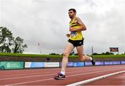 22 August 2020; John Black of North Belfast Harriers, competing in the Men's 5000m during Day One of the Irish Life Health National Senior and U23 Athletics Championships at Morton Stadium in Santry, Dublin. Photo by Sam Barnes/Sportsfile