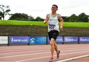 22 August 2020; Timmy O'Reilly Murphy of Togher AC, Cork, competing in the Junior Men's 5000m during Day One of the Irish Life Health National Senior and U23 Athletics Championships at Morton Stadium in Santry, Dublin. Photo by Sam Barnes/Sportsfile