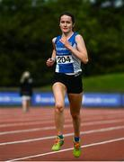 22 August 2020; Ruth Heery of Waterford AC, competing in the Women's 5000m during Day One of the Irish Life Health National Senior and U23 Athletics Championships at Morton Stadium in Santry, Dublin. Photo by Sam Barnes/Sportsfile