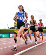 22 August 2020; Cliona Murphy of Dublin City Harriers AC, Dublin, competing in the Women's 5000m during Day One of the Irish Life Health National Senior and U23 Athletics Championships at Morton Stadium in Santry, Dublin. Photo by Sam Barnes/Sportsfile