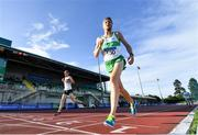 23 August 2020; Kevin Moriarty of Raheny Shamrock AC, Dublin, competing in the Men's 5000m during Day Two of the Irish Life Health National Senior and U23 Athletics Championships at Morton Stadium in Santry, Dublin. Photo by Sam Barnes/Sportsfile