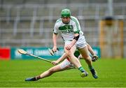 29 August 2020; Evan Shefflin of Ballyhale Shamrocks evades the tackle of George Murphy of Rower Inistioge during the Kilkenny County Senior Hurling Championship Round 1 match between Ballyhale Shamrocks and Rower Inistioge at UPMC Nowlan Park in Kilkenny. Photo by Seb Daly/Sportsfile