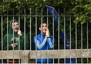 29 August 2020; Olympian and race walking coach Robert Heffernan watches on from outside the stadium during the Men's 10,000m Walk event during day three of the Irish Life Health National Senior and U23 Athletics Championships at Morton Stadium in Santry, Dublin. Photo by Sam Barnes/Sportsfile
