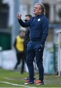 29 August 2020; Finn Harps manager Ollie Horgan during the Extra.ie FAI Cup Second Round match between Bray Wanderers and Finn Harps at Carlisle Grounds in Bray, Wicklow. Photo by Harry Murphy/Sportsfile