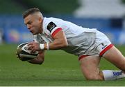 29 August 2020; Ian Madigan of Ulster during the Guinness PRO14 Round 15 match between Ulster and Leinster at the Aviva Stadium in Dublin. Photo by Brendan Moran/Sportsfile
