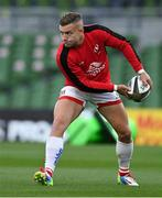 29 August 2020; Ian Madigan of Ulster prior to the Guinness PRO14 Round 15 match between Ulster and Leinster at the Aviva Stadium in Dublin. Photo by Brendan Moran/Sportsfile
