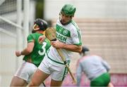29 August 2020; Eoin Cody of Ballyhale Shamrocks after scoring his side's second goal during the Kilkenny County Senior Hurling Championship Round 1 match between Ballyhale Shamrocks and Rower Inistioge at UPMC Nowlan Park in Kilkenny. Photo by Seb Daly/Sportsfile