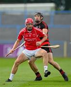 30 August 2020; Ciaran O'Neill of Passage in action against Shane O'Sullivan of Ballygunner during the Waterford County Senior Hurling Championship Final match between Passage and Ballygunner at Walsh Park in Waterford. Photo by Seb Daly/Sportsfile