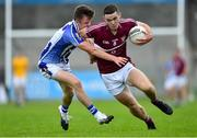 30 August 2020; Brian Fenton of Raheny in action against Robbie McDaid of Ballyboden St Enda's during the Dublin County Senior Football Championship Quarter-Final match between Ballyboden St Enda's and Raheny at Parnell Park in Dublin. Photo by Piaras Ó Mídheach/Sportsfile