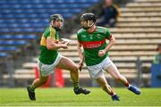 30 August 2020; Lorcan Egan of Loughmore-Castleiney in action against Timmy Hammersley of Clonoulty Rossmore during the Tipperary County Senior Hurling Championships Quarter-Final match between Clonoulty/Rossmore and Loughmore-Castleiney at Semple Stadium in Thurles, Tipperary. Photo by Harry Murphy/Sportsfile