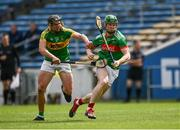 30 August 2020; John Meagher of Loughmore-Castleiney in action against Timmy Hammersley of Clonoulty Rossmore during the Tipperary County Senior Hurling Championships Quarter-Final match between Clonoulty/Rossmore and Loughmore-Castleiney at Semple Stadium in Thurles, Tipperary. Photo by Harry Murphy/Sportsfile