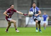 30 August 2020; Michael Darragh Macauley of Ballyboden St Enda's in action against Gavin Ivory of Raheny during the Dublin County Senior Football Championship Quarter-Final match between Ballyboden St Enda's and Raheny at Parnell Park in Dublin. Photo by Piaras Ó Mídheach/Sportsfile