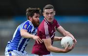 30 August 2020; Brian Fenton of Raheny in action against Darragh Nelson of Ballyboden St Enda's during the Dublin County Senior Football Championship Quarter-Final match between Ballyboden St Enda's and Raheny at Parnell Park in Dublin. Photo by Piaras Ó Mídheach/Sportsfile