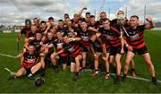 30 August 2020; Ballygunner players celebrate following their side's victory during the Waterford County Senior Hurling Championship Final match between Passage and Ballygunner at Walsh Park in Waterford. Photo by Seb Daly/Sportsfile