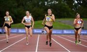 30 August 2020;  Phil Healy of Bandon AC, Cork, second from right, on her way to winning the Women's 200m event during day four of the Irish Life Health National Senior and U23 Athletics Championships at Morton Stadium in Santry, Dublin. Photo by Sam Barnes/Sportsfile