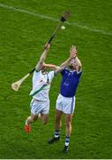 30 August 2020; Martin Keoghan of Tullaroan in action against Ciarán Wallace of Erin's Own during the Kilkenny County Senior Hurling Championship Round 1 match between Tullaroan and Erin's Own at UPMC Nowlan Park in Kilkenny. Photo by David Fitzgerald/Sportsfile