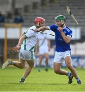 30 August 2020; Aidan Moran of Erin's Own in action against Tommy Walsh of Tullaroan during the Kilkenny County Senior Hurling Championship Round 1 match between Tullaroan and Erin's Own at UPMC Nowlan Park in Kilkenny. Photo by David Fitzgerald/Sportsfile