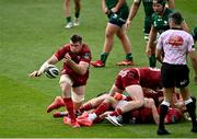 30 August 2020; Peter O'Mahony of Munster during the Guinness PRO14 Round 15 match between Munster and Connacht at the Aviva Stadium in Dublin. Photo by Ramsey Cardy/Sportsfile