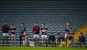 30 August 2020; Borris-Ileigh players look on during the penalty shoot-out during the Tipperary County Senior Hurling Championships Quarter-Final match between Borris-Ileigh and Drom and Inch at Semple Stadium in Thurles, Tipperary. Photo by Harry Murphy/Sportsfile
