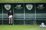 31 August 2020; Republic of Ireland manager Stephen Kenny during a Republic of Ireland training session at the FAI National Training Centre in Abbotstown, Dublin. Photo by Stephen McCarthy/Sportsfile