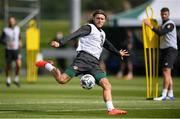 31 August 2020; Jeff Hendrick in action during a Republic of Ireland training session at the FAI National Training Centre in Abbotstown, Dublin. Photo by Stephen McCarthy/Sportsfile