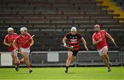30 August 2020; Dessie Hutchinson of Ballygunner in action against Callum O'Neill, left, and Jason Roche of Passage during the Waterford County Senior Hurling Championship Final match between Passage and Ballygunner at Walsh Park in Waterford. Photo by Seb Daly/Sportsfile