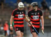 30 August 2020; Dessie Hutchinson, left, and Pauric Mahony of Ballygunner during the Waterford County Senior Hurling Championship Final match between Passage and Ballygunner at Walsh Park in Waterford. Photo by Seb Daly/Sportsfile