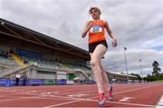 30 August 2020; Aoife Delargy of Nenagh Olympic AC, Tipperary, competing in the Women's 800m  event during day four of the Irish Life Health National Senior and U23 Athletics Championships at Morton Stadium in Santry, Dublin. Photo by Sam Barnes/Sportsfile