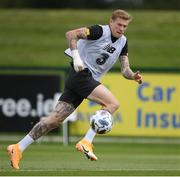 31 August 2020; James McClean during a Republic of Ireland training session at the FAI National Training Centre in Abbotstown, Dublin. Photo by Stephen McCarthy/Sportsfile