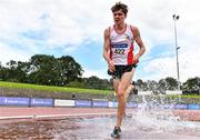 30 August 2020; Joe Dowd of Greystones and District AC, Wicklow, competing in the Men's 3000m Steeplechase event during day four of the Irish Life Health National Senior and U23 Athletics Championships at Morton Stadium in Santry, Dublin. Photo by Sam Barnes/Sportsfile