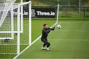 1 September 2020; Mark Travers during a Republic of Ireland training session at FAI National Training Centre in Abbotstown, Dublin. Photo by Stephen McCarthy/Sportsfile