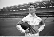 2 September 2020; (EDITOR'S NOTE; Image has been converted to Black and White) Actor Barry John Kinsella who played the role of Michael Hogan, one of the 14 victims of Bloody Sunday in a series of short films by the GAA, at the launch in Croke Park of a special range of initiatives by the GAA to focus on the memory of the 14 people who went to a match on Bloody Sunday, Nov 21, 1920 and never came home. Photo by Brendan Moran/Sportsfile