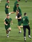 2 September 2020; Seamus Coleman during a Republic of Ireland training session at Vasil Levski National Stadium in Sofia, Bulgaria. Photo by Alex Nicodim/Sportsfile