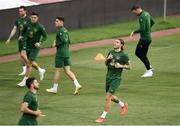 2 September 2020; Jeff Hendrick during a Republic of Ireland training session at Vasil Levski National Stadium in Sofia, Bulgaria. Photo by Alex Nicodim/Sportsfile