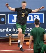 2 September 2020; Damien Doyle, Republic of Ireland head of athletic performance, during a Republic of Ireland training session at Vasil Levski National Stadium in Sofia, Bulgaria. Photo by Alex Nicodim/Sportsfile