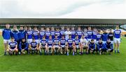 19 July 2019; The Laois squad before the EirGrid Leinster GAA Football U20 Championship Final match between Laois and Dublin at Bord na Móna O'Connor Park in Tullamore, Co Offaly. Photo by Piaras Ó Mídheach/Sportsfile