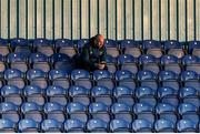 4 September 2020; St Patrick's Athletic head coach Stephen O'Donnell who is serving a one-match suspension sits in the stand during a SSE Airtricity League Premier Division match between Waterford and St. Patrick's Athletic at the RSC in Waterford. Photo by Michael P Ryan/Sportsfile