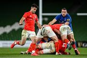 4 September 2020; Conor Murray of Munster during the Guinness PRO14 Semi-Final match between Leinster and Munster at the Aviva Stadium in Dublin. Photo by Ramsey Cardy/Sportsfile