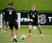 5 September 2020; James McClean during a Republic of Ireland training session at FAI National Training Centre in Abbotstown, Dublin. Photo by Stephen McCarthy/Sportsfile