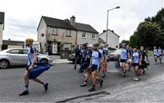 5 September 2020; Nenagh Éire Óg players make their way to Semple Stadium, after their warm-up at nearby Dr Morris Park, before the Tipperary County Senior Hurling Championship Semi-Final match between Nenagh Éire Óg and Loughmore/Castleiney at Semple Stadium in Thurles, Tipperary. Photo by Piaras Ó Mídheach/Sportsfile