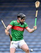 5 September 2020; Tomás McGrath of Loughmore-Castleiney with his own hurl and that of Conor Ryan of Nenagh Éire Óg during the Tipperary County Senior Hurling Championship Semi-Final match between Nenagh Éire Óg and Loughmore/Castleiney at Semple Stadium in Thurles, Tipperary. Photo by Piaras Ó Mídheach/Sportsfile