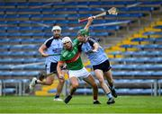 5 September 2020; Ciarán Connolly of Loughmore-Castleiney in action against James Mackey of Nenagh Éire Óg during the Tipperary County Senior Hurling Championship Semi-Final match between Nenagh Éire Óg and Loughmore/Castleiney at Semple Stadium in Thurles, Tipperary. Photo by Piaras Ó Mídheach/Sportsfile