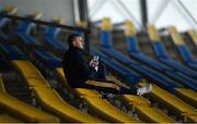 5 September 2020; Tipperary senior hurling manager Liam Sheedy looks on during the Tipperary County Senior Hurling Championship Semi-Final match between Nenagh Éire Óg and Loughmore/Castleiney at Semple Stadium in Thurles, Tipperary. Photo by Piaras Ó Mídheach/Sportsfile