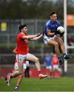 5 September 2020; Cormac O'Hagan of Na Fianna Coalisland in action against Rory Brennan of Trillick St. Macartan's during the Tyrone County Senior Football Championship Semi-Final match between Trillick St. Macartan's and Na Fianna Coalisland at Healy Park in Omagh, Tyrone. Photo by David Fitzgerald/Sportsfile