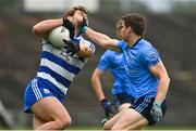 5 September 2020; Aidan O'Shea of Breaffy is tackled by Lee Keegan of Westport during the Mayo County Senior Football Championship Semi-Final match between Breaffy and Westport at Elvery's MacHale Park in Castlebar, Mayo. Photo by Brendan Moran/Sportsfile